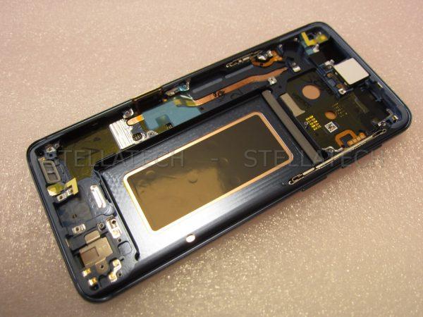 Samsung SM-G960FD Galaxy S9 Duos - Display LCD Touchscreen + Rahmen Blau 1