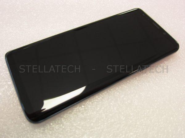 Samsung SM-G960FD Galaxy S9 Duos - Display LCD Touchscreen + Rahmen Blau
