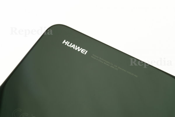 Huawei P20 Lite Dual Sim Akkudeckel Details Front Schrift